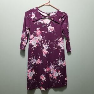 Girls size 12 Lilt soft and comfy purple dress